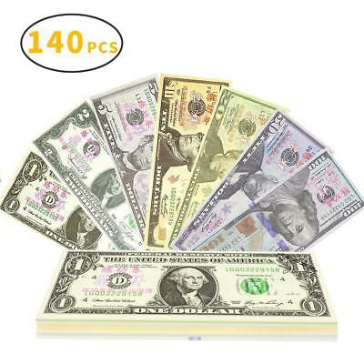 Prop Money Play Money Movie Game Realistic Play Paper Money Full Print 2 Sided