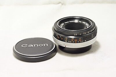 Canon FLP 38mm F2.8 MF Pancake As-Is [12024]