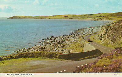 Luce Bay Near Port William Picture Scotland Printed Unposted Postcard
