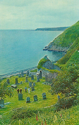 Kirkmaiden Old Church Port William Picture Scotland Printed Unposted Postcard