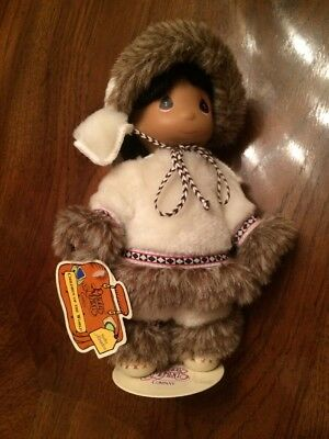 Precious Moments Children Of The World Sulu Alaska Doll New With Tags
