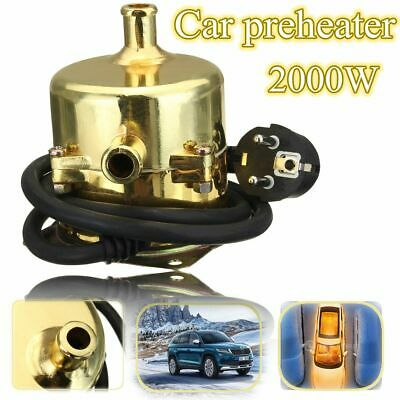 2000W 60°C CAR ENGINE HEATER PARKING COOLANT PREHEATER 220V 2KW HOT Fits ALL