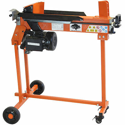 FOREST MASTER FM10TW 7 Ton Electric LOG SPLITTER Hydraulic Wood Axe Timber Maul