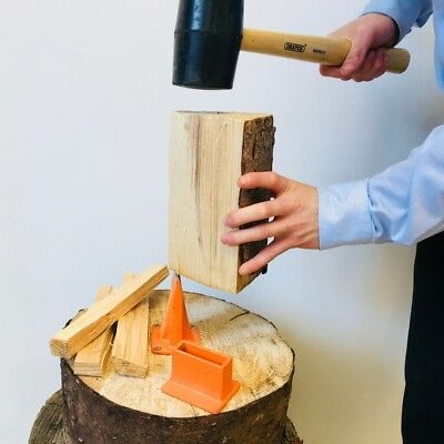 Kindling Axe Splitting Base Blade Wood Cutting Duocut Smart Log Splitter Timber