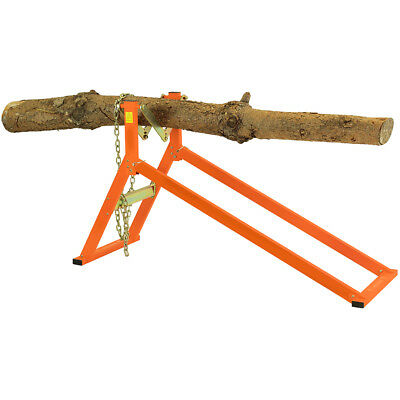 Ultimate Saw Horse Log Holder Chainsaw Strong Heavy Duty Safe Easy To Use