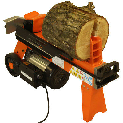Fast Compact Lightweight Hydraulic Electric Log Splitter 5 Ton 2200 Watt Motor