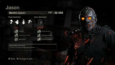 Friday the 13th The Game Savini Jason and Emotes + Clothes DLC PC Steam