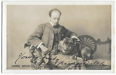 James Welch ~ Hand Signed Autographed Photo Postcard