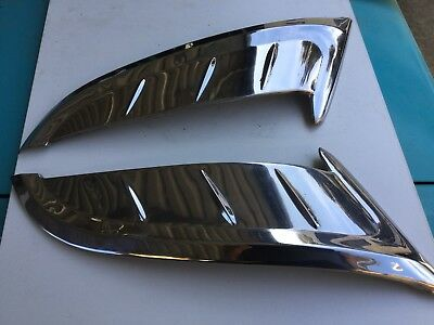 Holden FC  Left Hand And Right Hand rear door s/s moulding trim