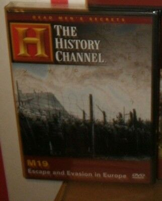 New History Channel Dvd.  M19 (Escape, Evasion In Europe) New In Shrink Wrap.