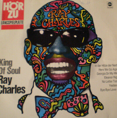 RAY CHARLES - KING OF SOUL - DE 68 - 1st PRESS