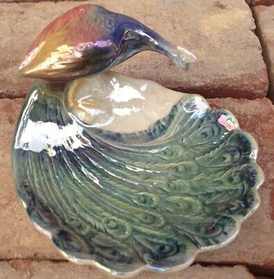 Vintage  Wembley Ware  Peacock   Australian Pottery  Very Good Condition