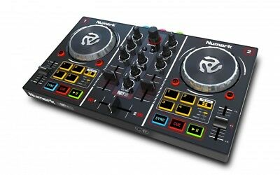 Numark Party Mix - 2 Channel DJ Controller with Built-in Light Show