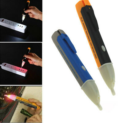 Electricity Detector Test Pencil LED Light AC Voltage Tester Volt Alert Pen New