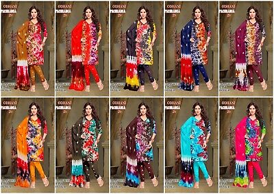 Kameez Salwar Indian Pakistani Suit Designer Dress Unstitched Shalwar Cotton SR