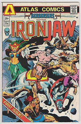 Barbarians Featuring Iron Jaw #1, Very Fine Condition'
