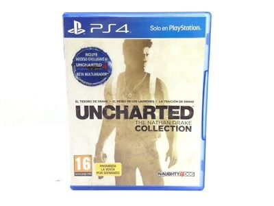 Juego Ps4 Uncharted: The Nathan Drake Collection Ps4 4079304