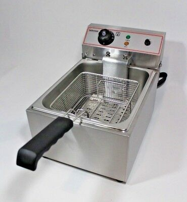 New Infernus  3KW 10L Electric Deep Fryer Fat Chip Commercial Counter-top