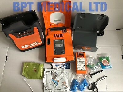 Cardiac Science Powerheart AED G5 Automatic G5A-02PO Need new battery + pads