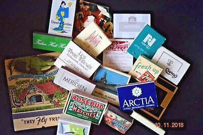 MATCHBOOKS   &    MATCHBOXES -  LOT  of  20    (2)