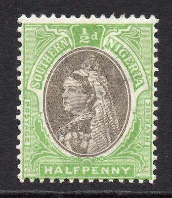 Southern Nigeria 1/2 Penny Stamp c1901-02 Mounted Mint SG1