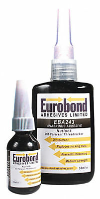 EUROBOND Nutlock 243 - Oil Tolerant Threadlocker