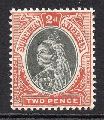Southern Nigeria 2 Pence Stamp c1901-02 Mounted Mint SG3
