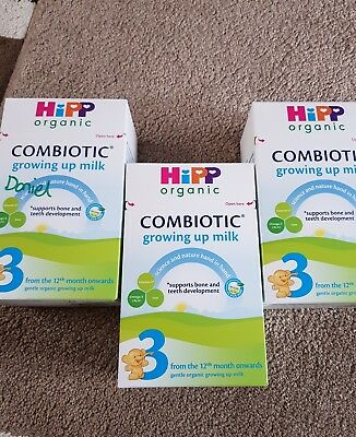 Hipp Combiotic Growing Up Milk Stage 3  3closed Box
