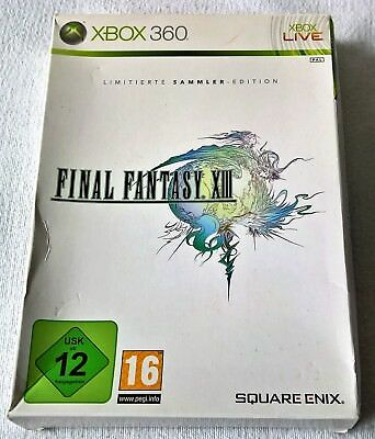 Final Fantasy XIII -- Limited Collector's Edition (Microsoft Xbox 360, 2010, DVD