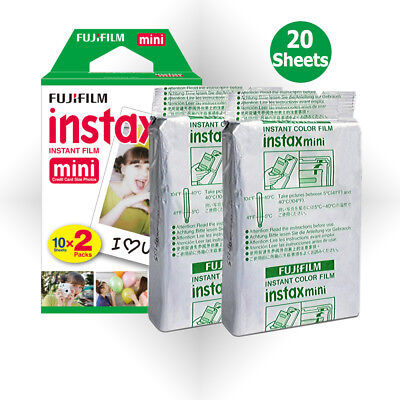 For Fujifilm Instax Mini 8 9 25 70 Camera - 20 Sheets Fuji Instant Picture Photo