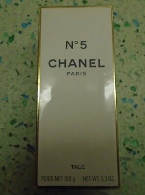 CHANEL No 5 Paris TALC - Perfumed Powder For The Body - 150g - Boxed & Sealed