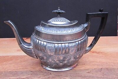 Antique Silver Plated Tea Pot - Henry Hobson & Sons Sheffield Makers Mark