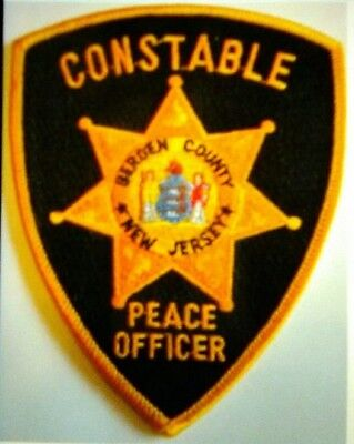 New Jersey - Bergen County NJ Constable Police Patch Badge