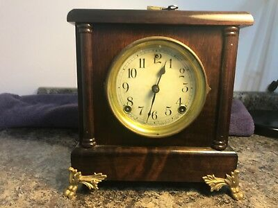 Antique Sessions Shelf/Mantle Chime Clock