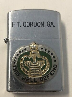 Fort Gordon, Georgia This We'll Defend Supreme Lighter US Army Japan