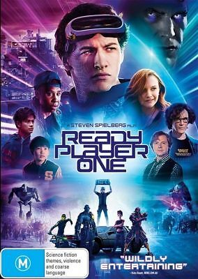 Ready Player One Dvd, New & Sealed, Region 4, 2018 Release Free Post