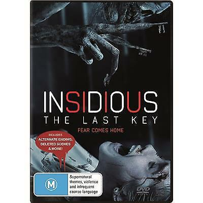 Insidious The Last Key Dvd, New & Sealed, 2018 Release, Region 4, Free Post