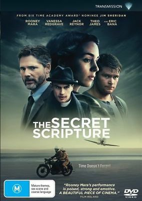 The Secret Scripture Dvd, New & Sealed, 2018 Release, Region 4, Free Post