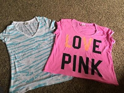 Lot Of Womens Pink And American Eagle Size M