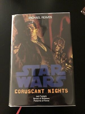 *RARE* Star Wars: Coruscant Nights by Michael Reaves (Hardcover)  SFBC