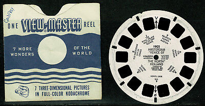 Viewmaster Reel - Netherlands Holland - Amsterdam Venice of the North