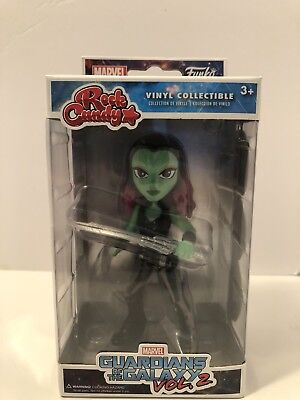 Funko Rock Candy- Marvel Guardians Of The Galaxy Vol.2 - Gamora *See Pics*