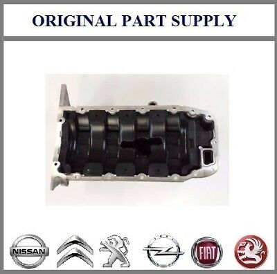 Genuine Vauxhall Astra Zafira 1.6 1.8 Oil Sump Pan Without Sensor New 55355007