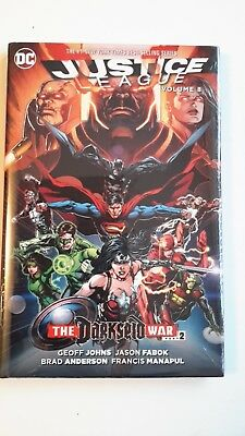 Justice League HC Volume 8 Darkseid War Part 2 by Geoff Johns (Hardback, 2016)