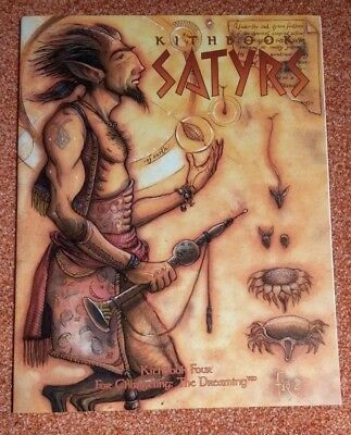 WW 7052 - Kithbook Satyrs - Changeling the Dreaming - World of Darkness
