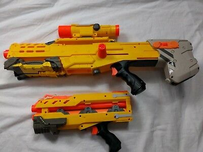 Nerf N-strike Longshot CS-6 Sniper Rifle With Scope Tripod Gun Toy #4