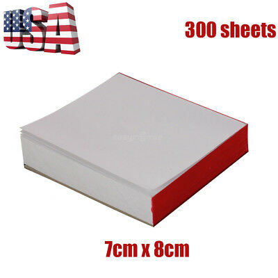 3 Pads Disposable Dental Mixing Pads Paper/Poly Impression Coated 2 Side 7 x 8cm