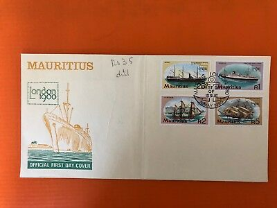 Briefmarke Mauritius First Day Cover