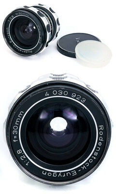 Rodenstock Eurygon 30mm f2,8 wide angle M42 screw mount.