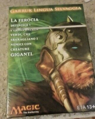 MAZZO DECK GARRUK LINGUA SELVAGGIA - Magic The Gathering